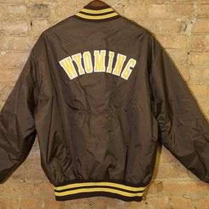 Vintage Varsity DeLong NCAA Wyoming Cowboys Jacket